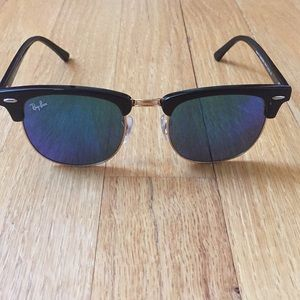 Ray-Ban Blue Clubmaster Sunglasses